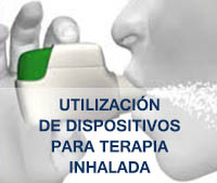 Dispositivos terapia inhalada